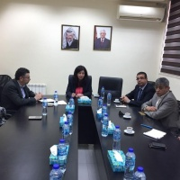 Minister Abeer Odeh and Palestinians Shippers Council Discuss ways to facilitate trade and reduce costs