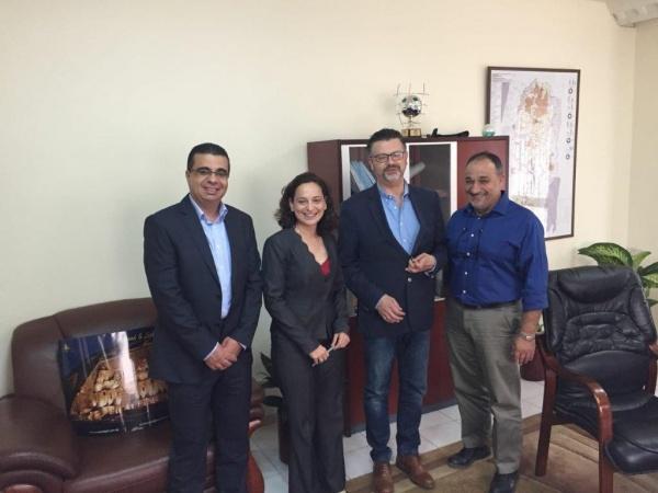 مجلس الشاحنين يجتمع مع مستشار ممثلية جمهورية مصر